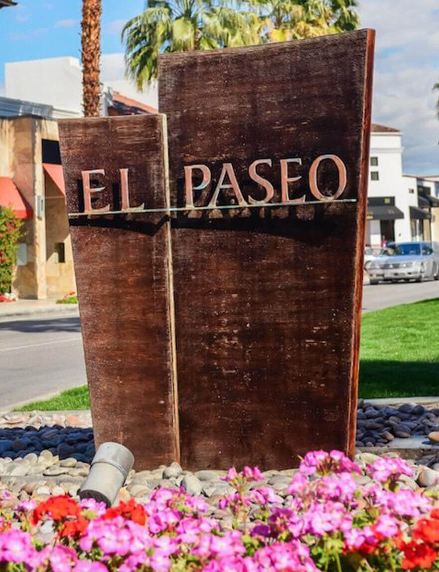 Located on El Paseo, the heart of Palm Desert.