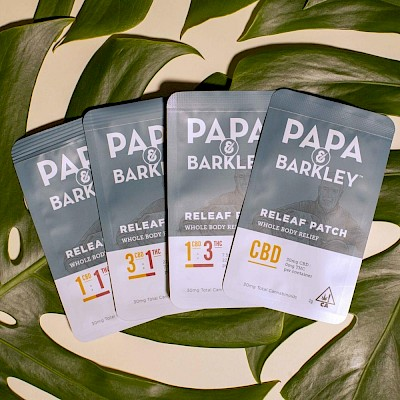 Releaf™ Patches by Papa & Barkley